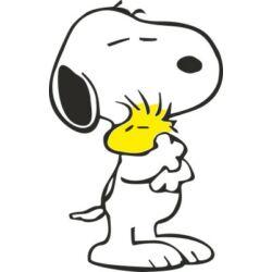 Falmatrica / faltetoválás - Snoopy a cimborájával 51 x 80