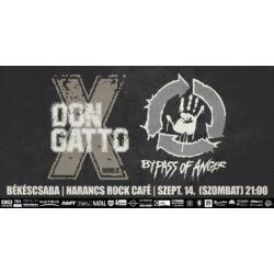 Don Gatto, Killer Mendez, Hell Machine koncertjegy - Békéscsaba, Narancs Rock Café, május 26. (szombat) 21:00