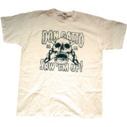 Don Gatto Saw 'em up! póló / t-shirt, natúr