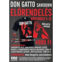 Don Gatto - Sawdown előrendelés