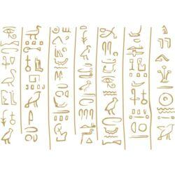 Falmatrica / faltetoválás - hieroglifák 141x100 cm