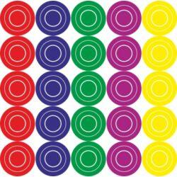 Falmatrica - színes karikák