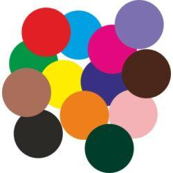 Falmatrica - színes körök (50db) 5 cm átmérő