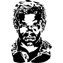 Falmatrica - Dexter Morgan, 46 x 70 cm