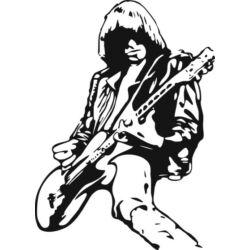 Falmatrica / faltetoválás - Johnny Ramone