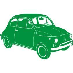 Falmatrica, faltetoválás - Fiat, 74 x 46 cm