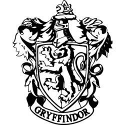 Falmatrica - Harry Potter Griffendél / Gryffindor címer, 58 x 72 cm