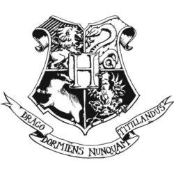 Falmatrica - Harry Potter címer,  70 x 58 cm