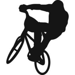 Falmatrica / faltetoválás - BMX, 46 x 55 cm