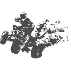 Falmatrica / faltetoválás - quad, 58x90 cm