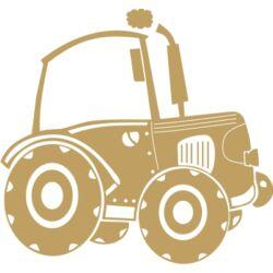 Falmatrica - Traktor, 49 x 46 cm