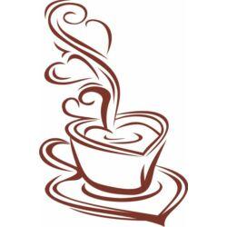 Falmatrica / faltetoválás - kávé