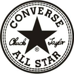 Falmatrica / faltetoválás - Converse 46 x 46 cm