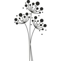 Falmatrica, faltetoválás - pitypang 68 x 130 cm