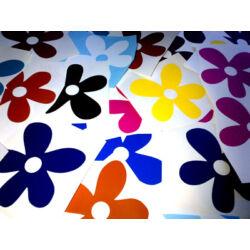 Falmatrica - színes virágok (50db) 11cm átmérő
