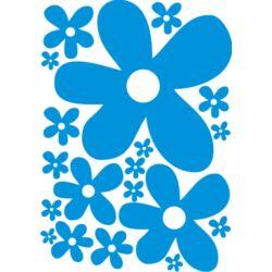 Falmatrica, faltetoválás - Virágok (A4)