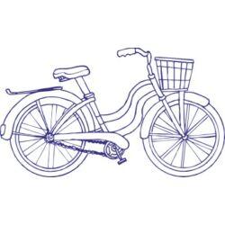 Falmatrica, faltetoválás - bringa 100 x 58 cm