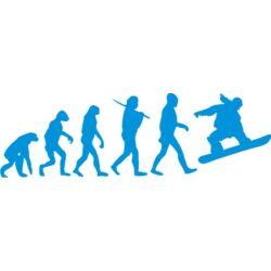 Falmatrica - Snowboard evolúció 95 x 30 cm