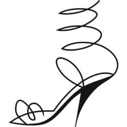 Falmatrica, Magassarkú cipő, 46x53 cm