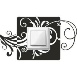 Falmatrica, faltetoválás - Villanykapcsoló szárak, 26,5 x 15 cm