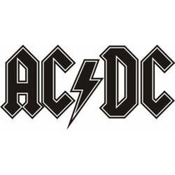 Falmatrica, faltetoválás - AC/DC, 95x46 cm