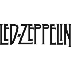Falmatrica, faltetoválás - Led Zeppelin, 146 x 46 cm