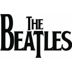 Falmatrica, faltetoválás - The Beatles, 46 x 76 cm